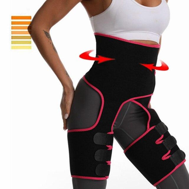High quality waist seal Women Waist Trainer Neoprene Belt Weight Loss Shaper Slimming Corset Waist Belt Sweat Fat Burning Girdle 1