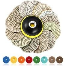 Polisher-Wheel-Disc Wet-Polishing-Pads Floor-Grinder Granite-Stone Marble Concrete Diamond