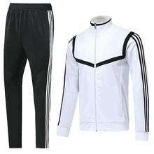 Новая куртка на молнии спортивный костюм Мужская спортивная одежда с длинными рукавами Баскетбол Футбол для бега и футбола Мужская одежда для бега