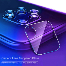 Película protectora de vidrio templado para Huawei Mate 20 Pro X Protector de pantalla para teléfono Cámara Len película para Huawei Mate 10 Lite 9 vidrio