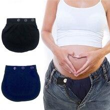 Maternity Pregnancy Waistband Belt Adjustable Pants Lengthening Waist Extenders 40JC