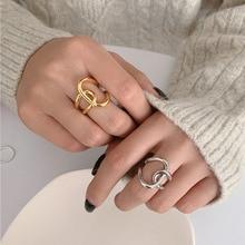 Фото - Retro Simple Line Intertwined Ring Metal Hollow Adjustable Ring For Women Fashion Design Statement Infinite Ring Wedding Jewelry myrna g raines intertwined