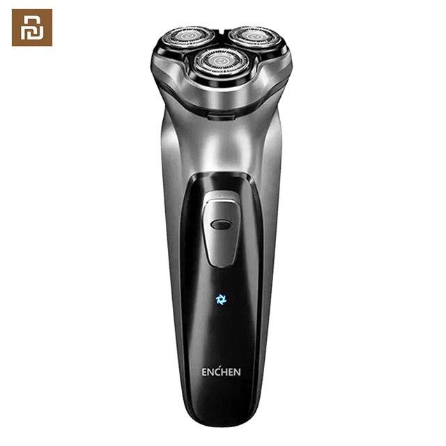 Afeitadora eléctrica Youpin Blackstone para hombre, máquina de afeitar recargable para Barba