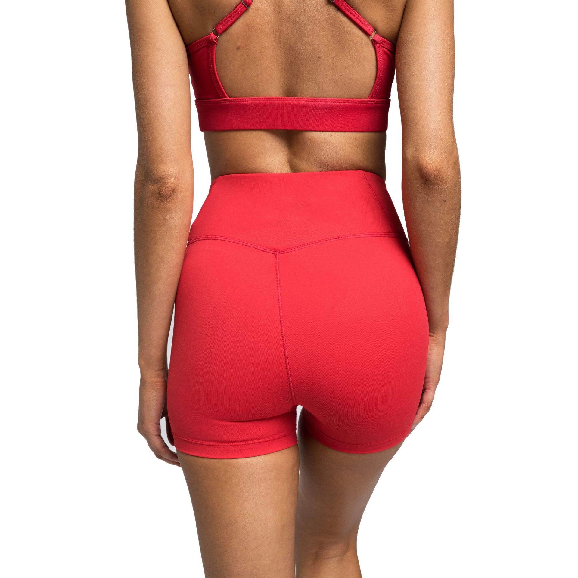 Sem costura conjunto de yoga cintura alta