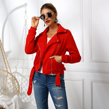 цена на Hirigin Womens Autumn Winter Jackets Outwear Coat Zip Plus Size Bomber Jacket Ladies Classic Zip Up Biker Quilted Coat Tops