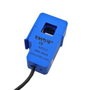 Image 5 - 10 Uds 30A 50A 100A SCT013 0 100A no invasivo AC nuevo Sensor de transformador de corriente de núcleo dividido nuevo