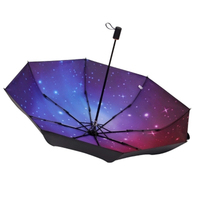 Abstract Anti UV Sunny Umbrella Women Rain Floding Uv Protection Mini Parasol Girls Windproof Semsiye Cute Rain Umbrellas W