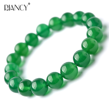Green loose beads bracelet girl couple fashion jewelry birthday bracelets Beading Tanabata gift