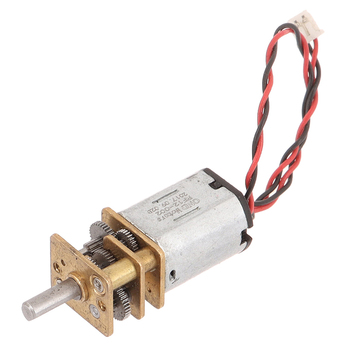 DC 3V-12V 60RPM Slow Speed Micro Mini N20 Full Metal Gearbox Gear Reducer Motor image