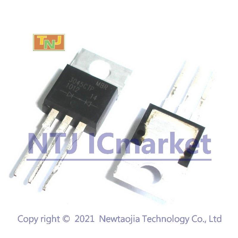10 шт. MBR3045CTP TO-220 3045CTP выпрямитель Шоттки, 2x15 A