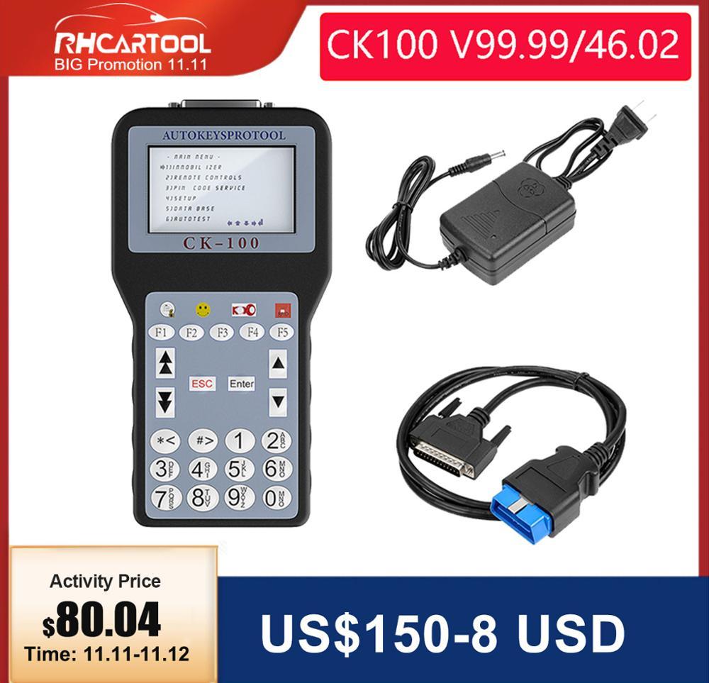 OBD2 Diagnostic tool CK100 Key Programmer CK-100 V99 99 46 02 CK100 Key Programmer Auto Key Programmer with 1024 Tokens