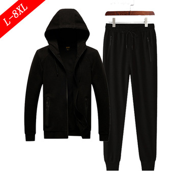 Pure Cotton Big Size Men Leisure Autumn Big Size Knitting Suit Male Coat Young And Middle-aged Trend Leisure Suit