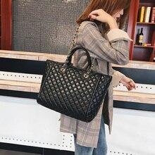 цены Luxury Handbags Women Bags Designer Fashion Leather Large Shoulder Crossbody Bags Channels Ladies Purse Sac A Main Big Tote Flap