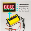 12V 2A Intelligent Car Motorcycle Lead Acid Battery Charger 12 V Volt 3 Stages LCD Display Scooter Motor Mower Auto 10A 12A 20A review