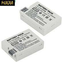 2Packs 7.2V 1800mAh LP-E8 LP E8 LPE8 Li-ion Camera