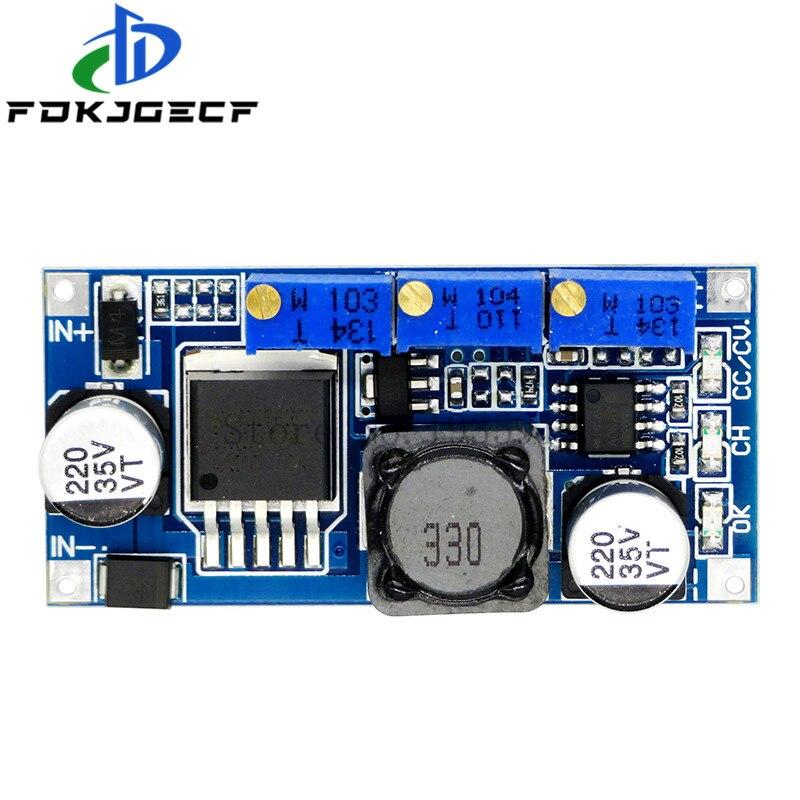 LM2596 светодиодный драйвер DC DC понижающий Регулируемый CC/CV блок питания зарядное устройство Регулируемый LM2596S постоянный ток|Интегральные схемы|   | АлиЭкспресс