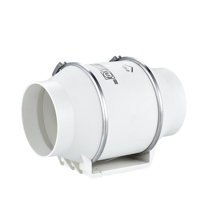 4 inch Exhaust Fan Wall Window Hood fan for bathroom Home Silent Ventilator Pipe Duct Fan Ventilate Air Cleaning Extractor 4