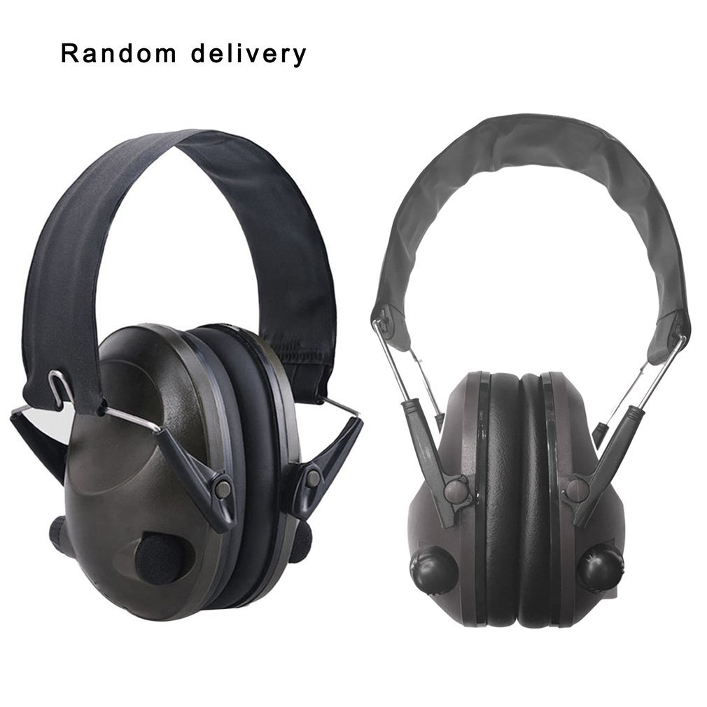 New TAC 6S Anti-Noise Audio Headphone Tactical Shooting Headset Soft Padded Electronic Earmuff For Sport Hunting Music Wholesale