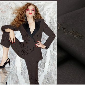 Worsted wool fabric 150cm autumn and winter coat suit wool fabric embroidered trousers fabric wholesale wool cloth