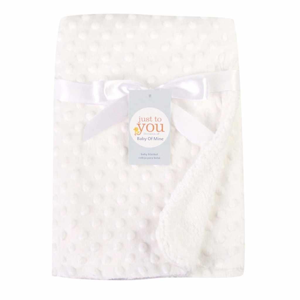 ทารกแรกเกิดผ้าห่ม Solid & Swaddling ความร้อนขนแกะผ้าห่มผ้านวมผ้าห่มเด็กทารกแรกเกิด hydrofiel doeken