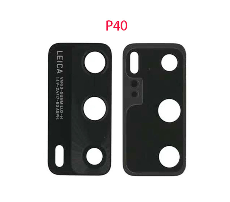 For Huawei P40 / 40 Pro Rear Back Camera Glass Lens With Adhesive Sticker Replacement Part