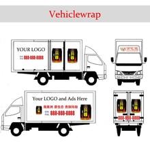 YINPINHUI Customizing Vehiclewrap Cars Vehicle Paste Paper Sticker Ads