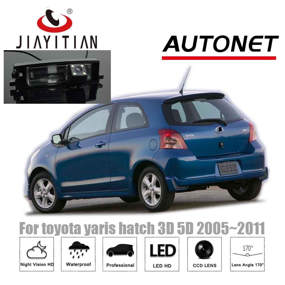 Reverse Parking Rear View Camera Caméra de recul pour Toyota Yaris 2006 2012
