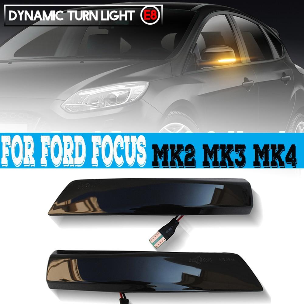 Купить 2x боковой зеркальный индикатор динамический поворотный светодиодный