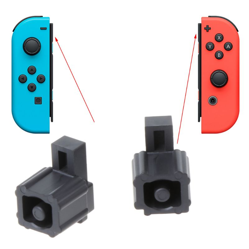 1Pair Durable Plastic Metal Buckle Lock Replacement Repair Tools Kit For Nintend Switch JOY-CON Gamepad Game Controller Shell Ca
