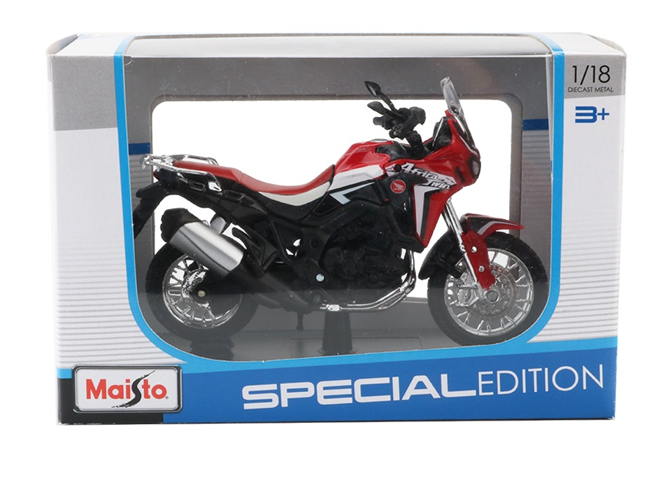 Africa Twin DCT CRF1000L Motorcycle Toy Model 25
