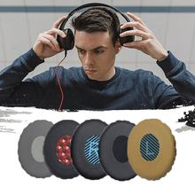 Sponge Cover For Bose Oe2 Oe2i Leather Ear Cover Black Grey Blue Red Khaki Memory Cotton High-tech Production Process(China)