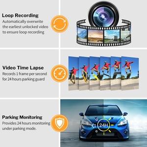 Image 5 - Deelife مرآة مسجل دي في أر داش كام 10 كامل الشاشة HD 1080P سيارة كاميرا مرآة الرؤية الخلفية مع الرؤية الخلفية مسجل الفيديو
