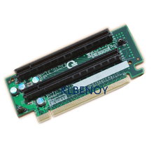 Double slot pice PCI-E X16 carte d'extension 2U PCI-E carte vidéo carte graphique pour serveur bidirectionnel E5(China)