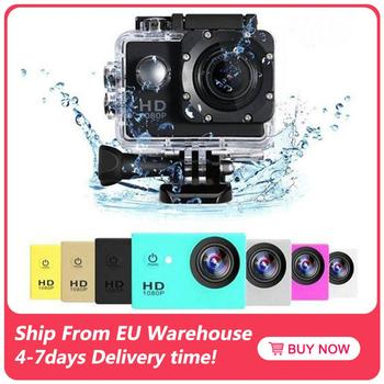Ultra HD 4K Video Waterproof Camera Outdoor Action Sports Camcorder 1080P DV Cam Wide Angle 170 Degree Wide Angle 2.0 Inch
