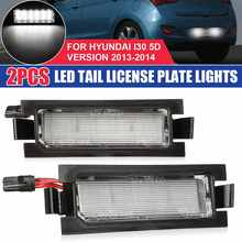 2Pcs Error Free LED Number License Plate Light Lamp For Kia Ceed ED JD for Hyundai I30 CW Accent Elantra GT