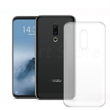 Soft Phone Case For Meizu 15 16 X Xs 16th Plus 16X 16s 16Xs Pro M6t M6 Note 8 9 V8 X8 Transparent Silicone Cover