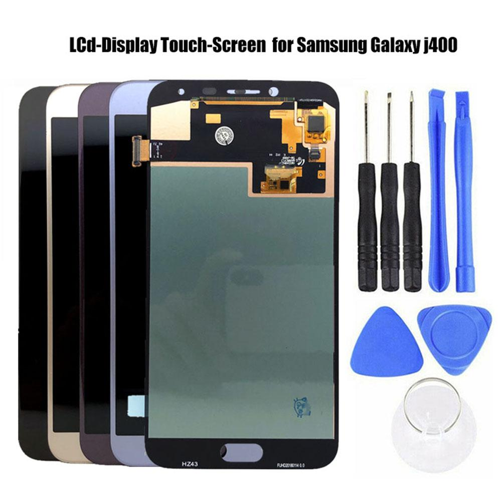 Super AMOLED For Samsung Galaxy J4 J400 J400F J400G / DS SM-J400F LCD Display With Touch Screen Digitizer Assembly