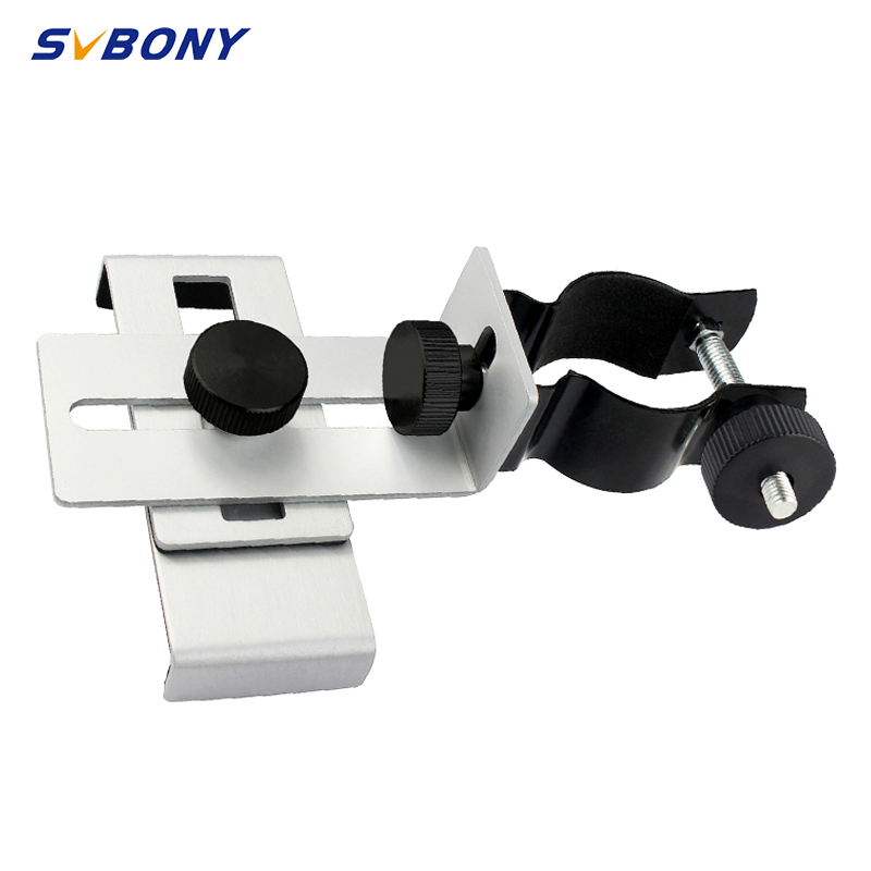 SVBONY 24-38mm Universal Mobile Phone Holder Adjustable Adapter Installation Microscope Observation Range Telescope Clip Bracket
