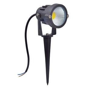 Image 3 - 3W 5W 10W 12W  Mini Led Lawn Garden Light 12V 85 265V Outdoor IP65 Waterproof Spike Landscape Spot Light for Garden Lighting