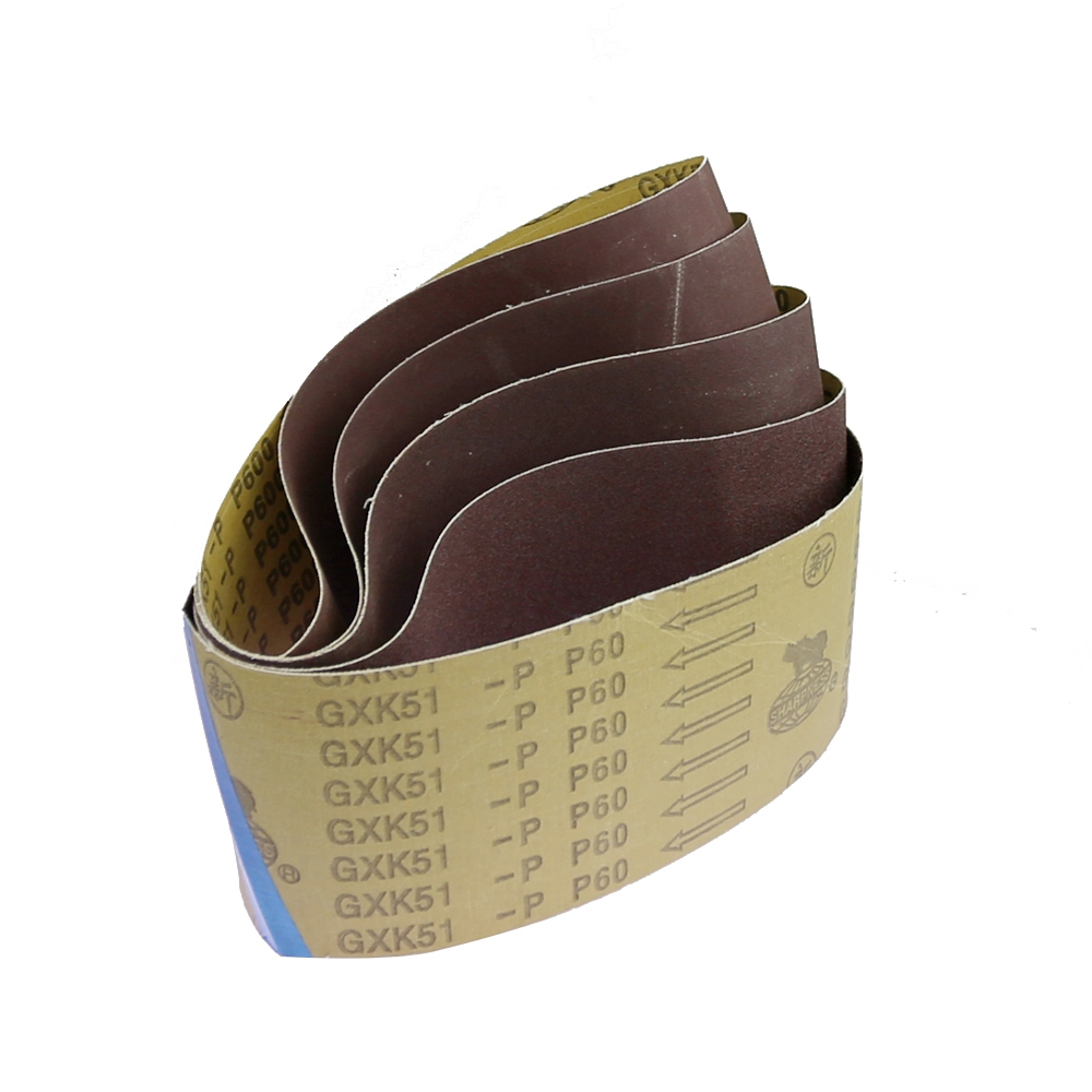 "Image 2 - 10 pieces 610*100mm Abrasive Sanding Belts 24""*4"" P60   P600 for Wood Soft Metal 9400 Sanding machineAbrasive Tools   -"