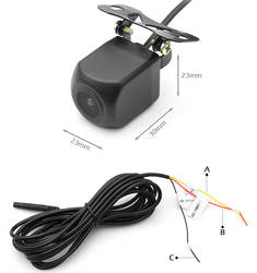 Горячая Распродажа, беспроводная автомобильная резервная камера с Wi-Fi, камера ночного видения высокой четкости, широкоугольная камера для