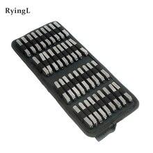 36 個炭素鋼パンチアルファベットナンバースタンプセット金属 A Z 手紙パンチ革の装飾クラフトツール