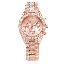 Luxury Women Watches Fashion Stainless Steel Geneva Luxury