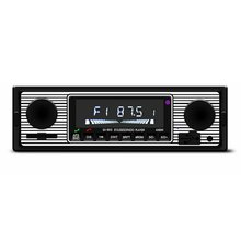 Vintage Car Bluetooth FM Radio MP3 Player Stereo USB AUX Classic Car Stereo Audio OLED Color Screen Car Music Media Player