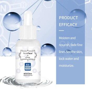 цена на Face Serum korean makeup whitening acne Hyaluronic Acid Shrink Pore Whitening Moisturizing Essence Face Cream Dry Skin Care 30ml