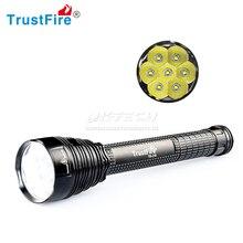 TrustFire TR J18 Latarka LED 8500 lumenów 5 tryb 7x XML T6 latarka LED wysokiej mocy Super jasne dla wędkarzy rowerów Camping piesze wycieczki
