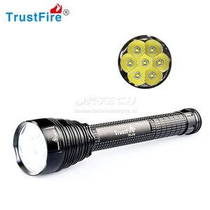 Trustfire TR-J18 lanternas led 8500 lúmen 5-mode 7x XML-T6 led tocha de alta potência super brilhante para pesca bicicleta acampamento caminhadas