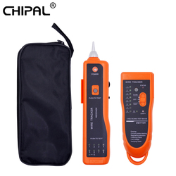 CHIPAL Professional XQ-350 Ethernet LAN Network Cable Tester Telephone Wire Tracker for UTP STP Cat5 Cat6 RJ45 RJ11 Line Finder