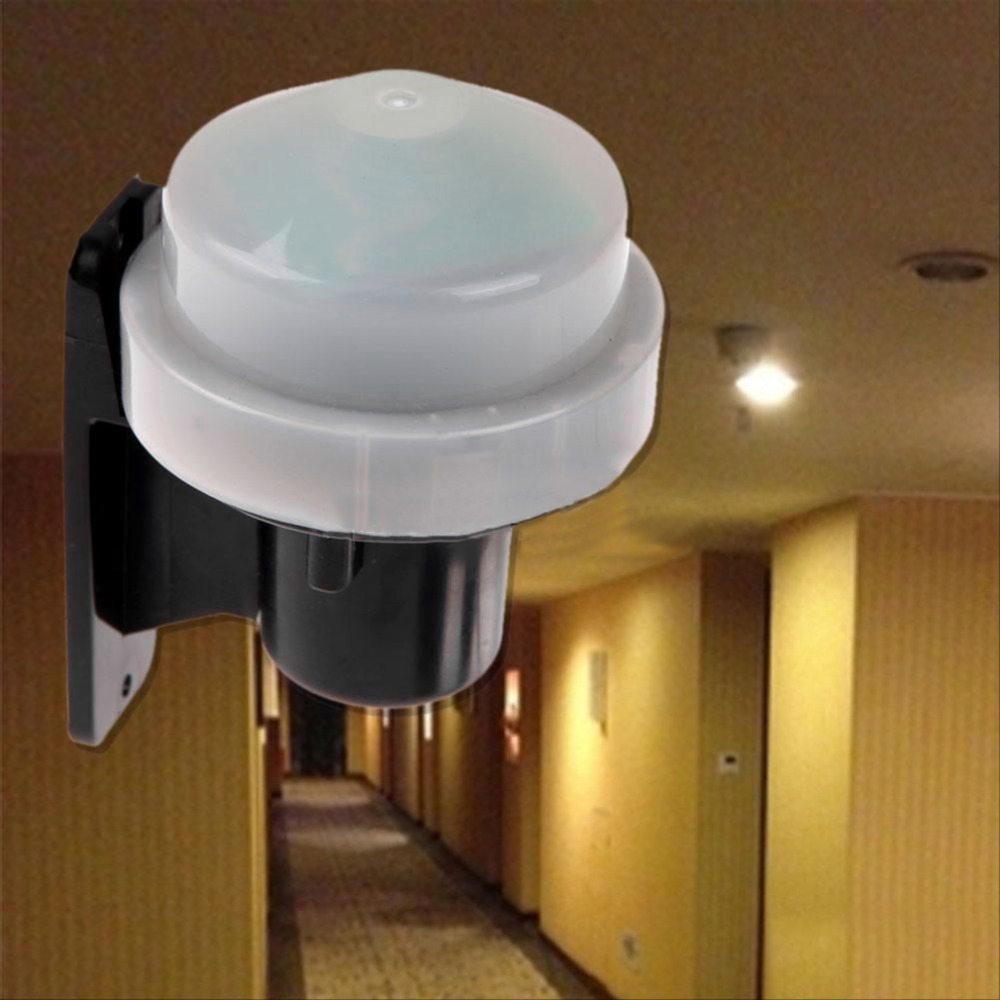 High Quality Outdoor 230-240V Photocell Light Switch Daylight Dusk Till Dawn Sensor Light Switch