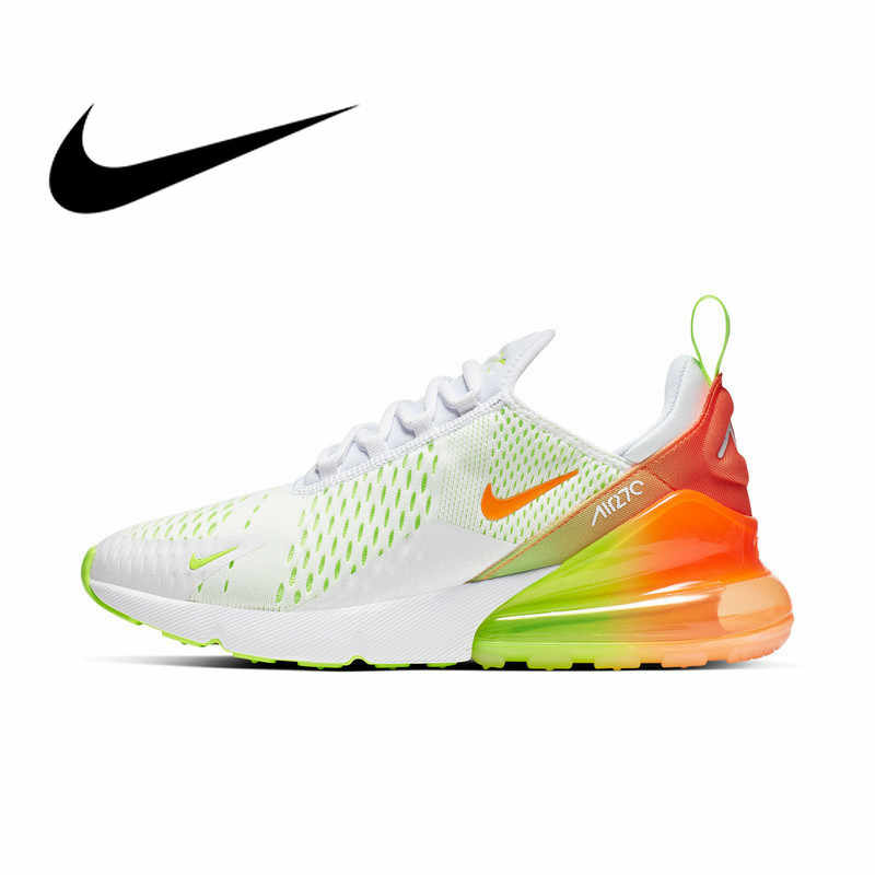 Original authentique Nike Air Max 270 hommes chaussures de course respirant Sports de plein Air mode baskets 2019 nouveauté CN7077-181